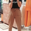Thumbnail: Tan Cotton Drawstring Trousers