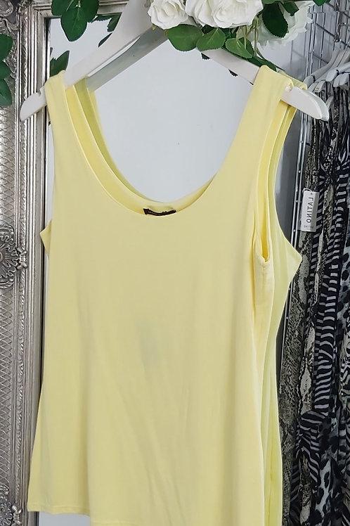 Lemon Stretch Vest Top
