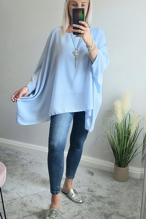 Blue Necklace Floaty Box Top