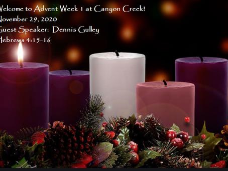 Advent Week 1 - Splendor of the Incarnation