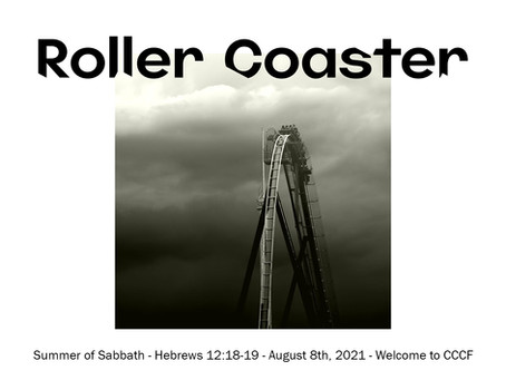 Podcast - Summer of Sabbath:  Roller Coaster