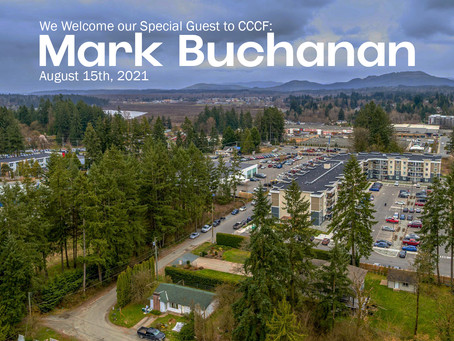 Special Guest Speaker:  Mark Buchanan - Everything You Need For Sunday