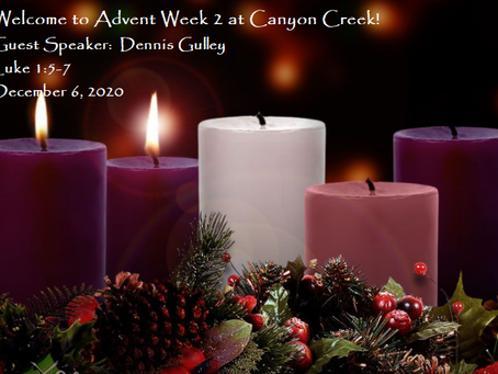 Advent Week 3 - Everything You Need To Know For Sunday!