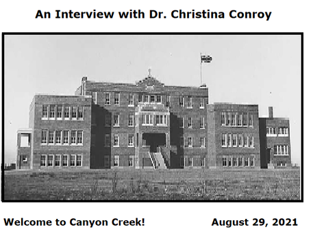 Podcast - An Interview with Dr. Christina Conroy