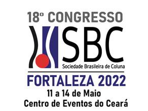 Comunicado Importante -18° Congresso da Sociedade Brasileira de Coluna