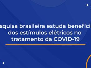 Pesquisa brasileira estuda benefícios dos estímulos elétricos no tratamento da COVID-19
