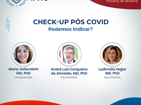 Check-Up Pós COVID - Podemos Indicar?