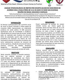 ANÁLISE EPIDEMIOLÓGICA DE ÓBITOS POR INFARTO AGUDO DO MIOCÁRDIO DE ACORDO COM A FAIXA ETÁR