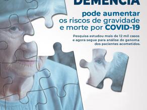 Demência e Doença de Parkinson agravam a COVID-19