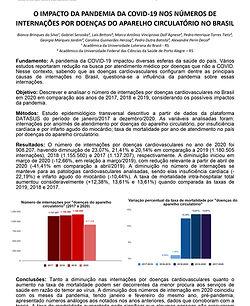 O impacto da pandemia da COVID-19 nos números de internações por doenças do aparelho circu
