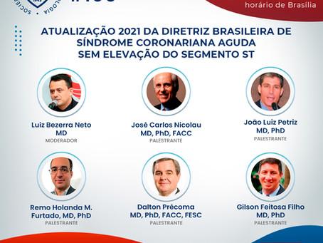 Atualização 2021 da Diretriz Brasileira de Síndrome Coronariana Aguda Sem Elevação do Segmento ST