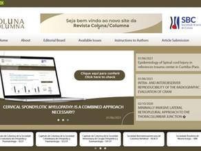 Revista Coluna apresenta novo site