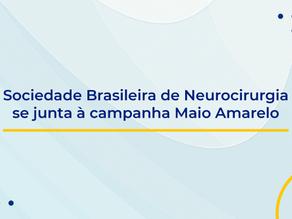 Sociedade Brasileira de Neurocirurgia se junta à campanha Maio Amarelo
