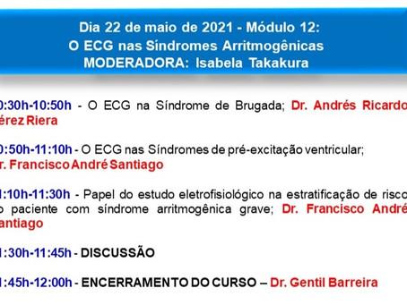 Módulo 12 - O ECG nas Síndromes Arritmogênicas