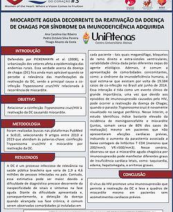 Miocardite aguda decorrente da reativação da doença de Chagas por síndrome da imunodeficiê
