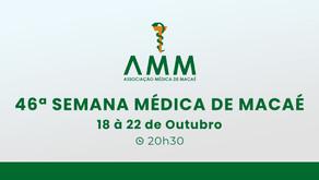 18-10-2021 - 46ª Semana Médica de Macaé - AMM
