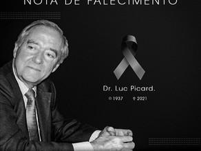 Nota de falecimento: Dr. Luc Picard