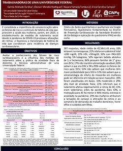 INFLUÊNCIA DO ISOLAMENTO SOCIAL NA PANDEMIA DE COVID-19 NO CONHECIMENTO DE FATORES DE RISC