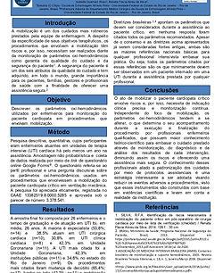 Parâmetros oxi-hemodinâmicos utilizados na mobilização de pacientes cardiopatas críticos.j
