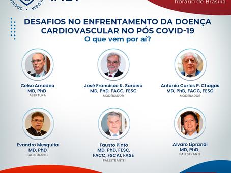 Desafios da atenção Cardiovascular no pós Covid-19: o que vem por aí?