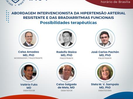 Abordagem intervencionista da hipertensão arterial resistente e das bradiarritmias funcionais