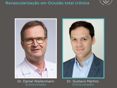 SBC Entrevista  - Dr. Daniel Weilenmann fala sobre Revascularização em Oclusão total crônica