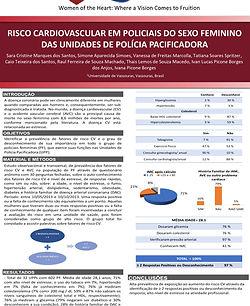 64398 - Risco cardiovascular em policiais do sexo feminino das unidades de polícia pacific