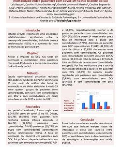 O impacto da doença cardiovascular nas taxas de internação e mortalidade entre pacientes c
