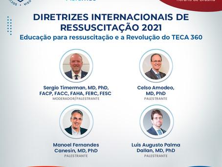 Ressuscitação 2021: Educação para ressuscitação e a Revolução do TECA 360