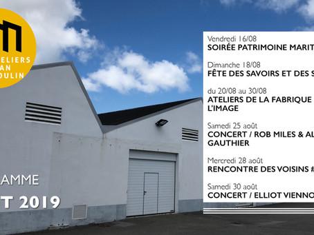 Programme - août 2019