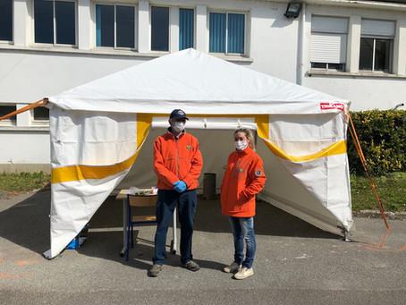 SOLIDAIRES // un centre COVID aux Ateliers