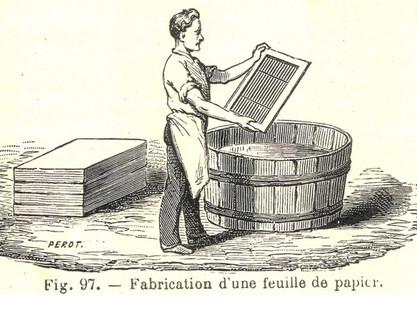 21 juillet // atelier jeunesse fabrication de papier