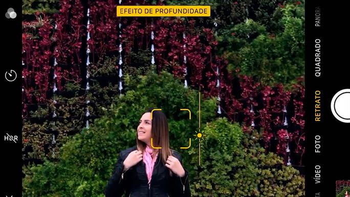 Foto com Celular + Formas Geométricas