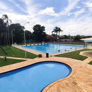 Espaço das piscinas