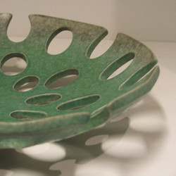 Green oval detail