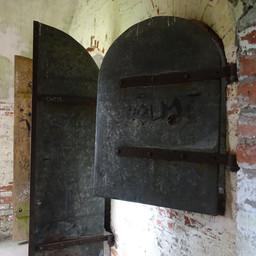 Iron door and shutter