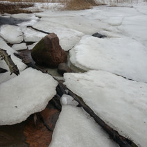 February ice