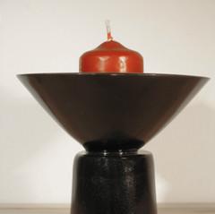 Candle holder bowl