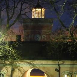 Clock tower autumn
