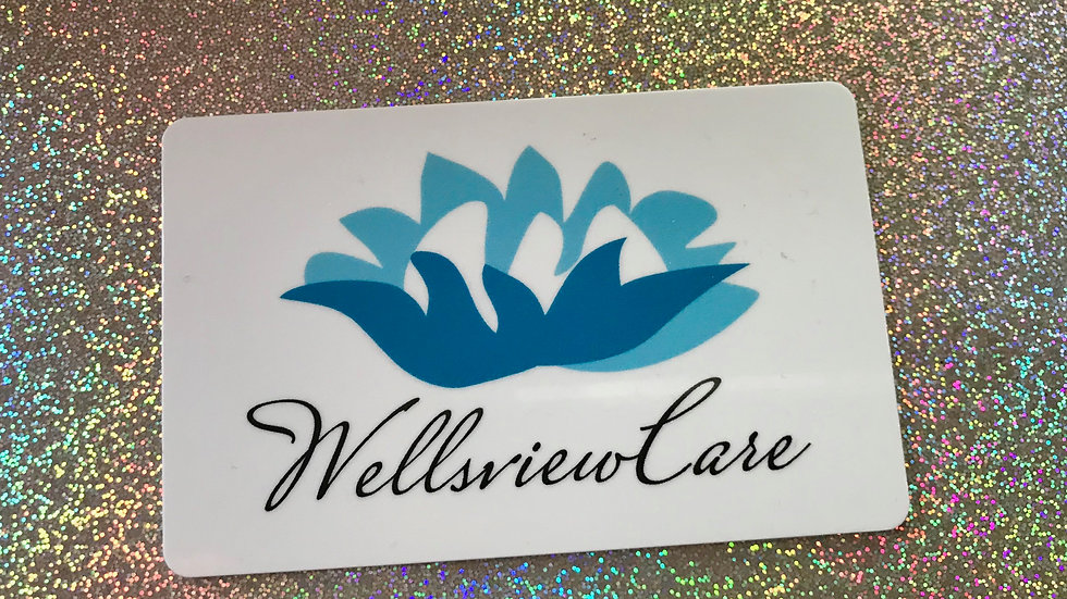 WELLSVIEW GIFT CARDS