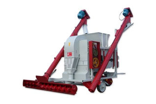 Самопередвижная зерноочистительная машина