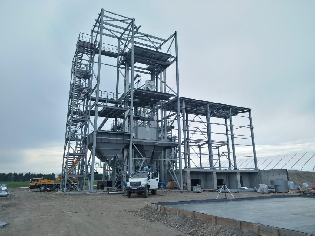 Зерноочистительная башня