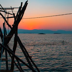 Laskara sunset