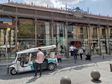 Outside view of San Miguel Mercado