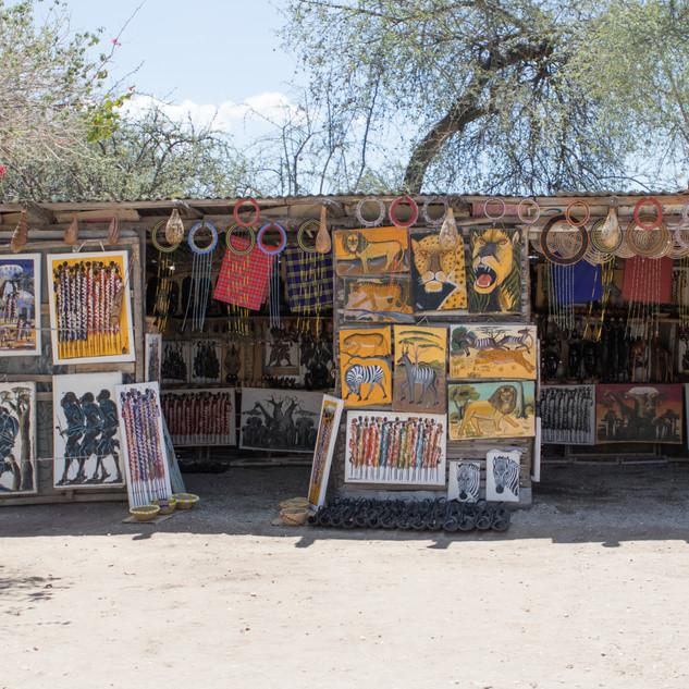 Roadside art gallery!