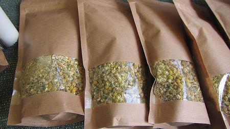 Mountain tea sold at Archeron river