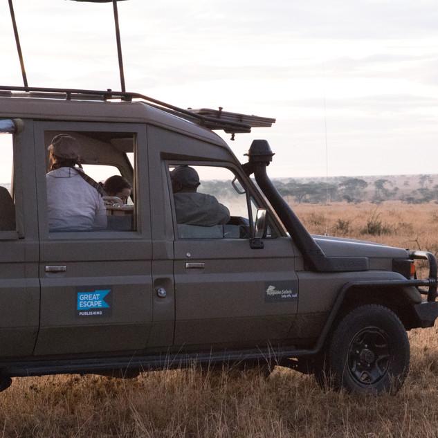 Topguides Safaris custom built truck