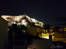 The Acropolis from roof top