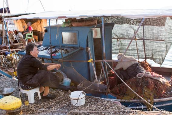 Preveza fish seller