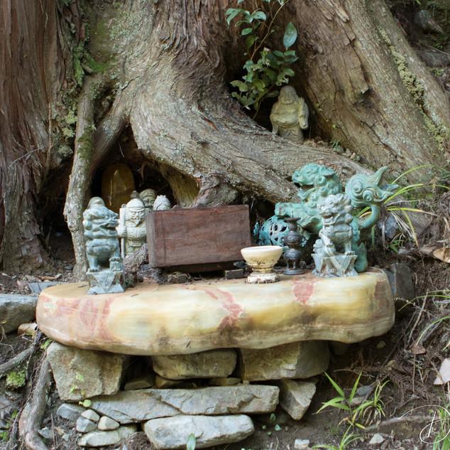 Near a water falls, Yaotsu